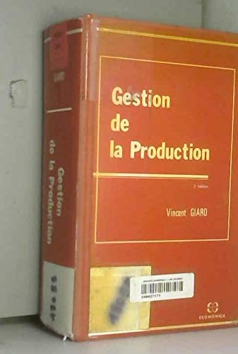 9782717815276: Gestion de la production