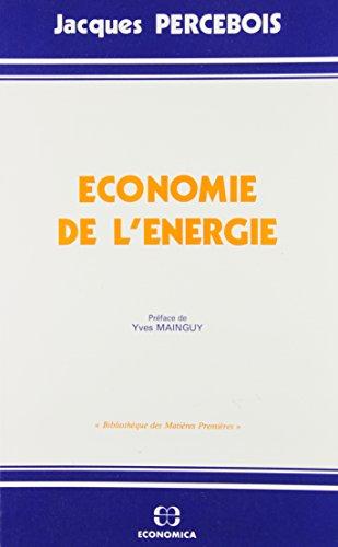9782717815382: Economie de l'énergie