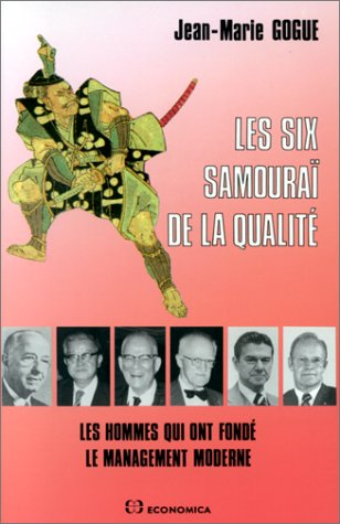 9782717818611: Les six samoura� de la qualit�