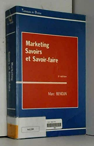 9782717819519: Marketing, savoirs et savoir-faire