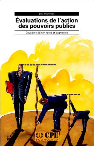 9782717823707: Evaluations de l'action des pouvoirs publics (2e édition revue et augmentée)