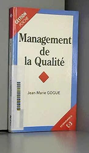 9782717825459: Management de la qualité