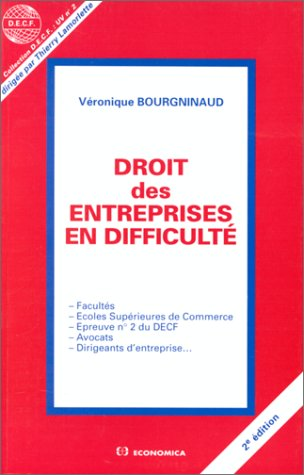 9782717827927: Droit des entreprises en difficultés