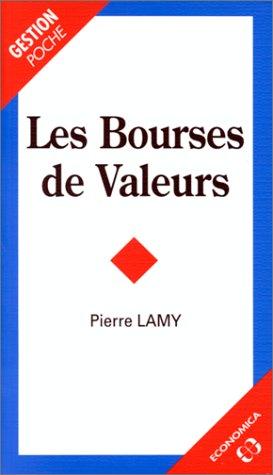 9782717829297: Les bourses de valeurs