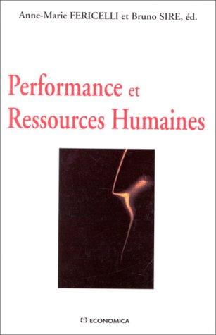 9782717831764: Performance et ressources humaines