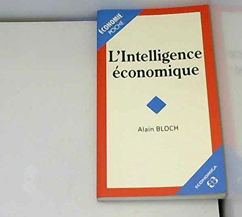 L'intelligence économique (Economie) - Bloch, Alain
