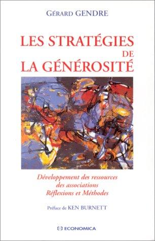 9782717831917: Les stratégies de la générosité
