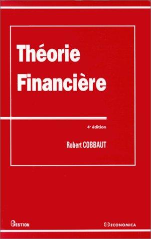 9782717834420: Théorie financière
