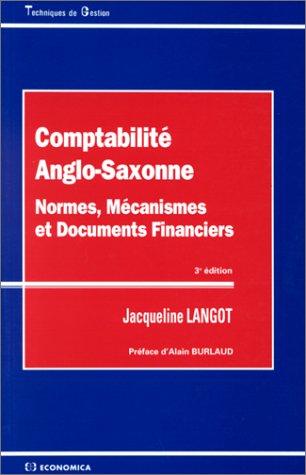 9782717835199: Comptabilité anglo-saxonne