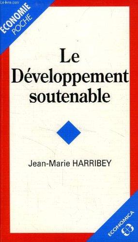 9782717835472: Le développement soutenable