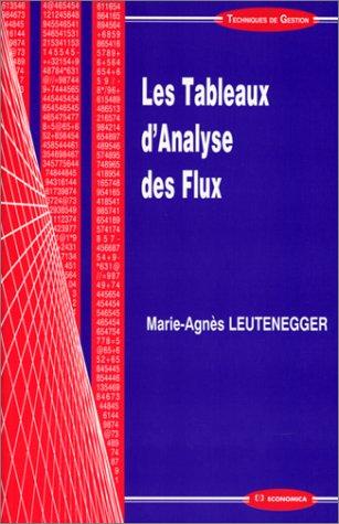 9782717839180: Les tableaux d'analyse des flux