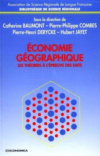9782717841220: Economie géographique