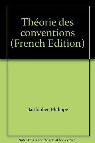 9782717842968: Th�orie des conventions