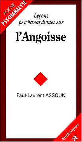 9782717844146: Leçons psychanalytiques sur l'angoisse