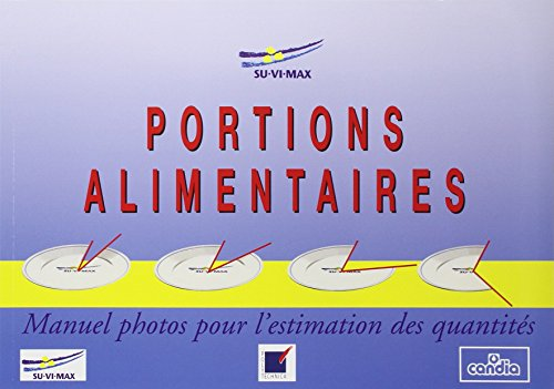 Portions alimentaires : Manuel photos pour l'estimation: Collectif