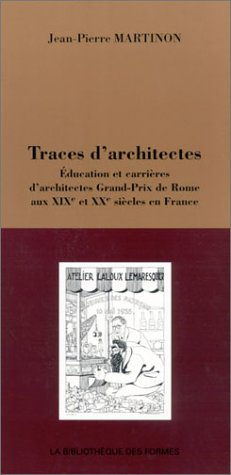 9782717845990: Traces D'Architectes
