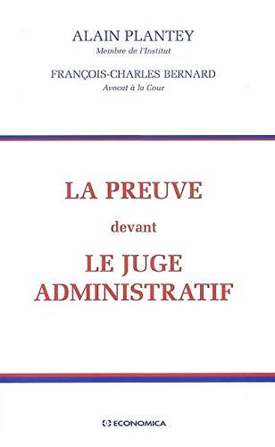 9782717846164: La preuve devant le juge administratif