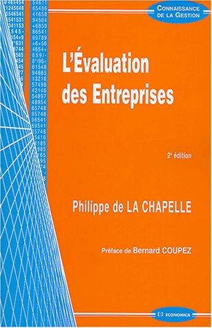 9782717847772: L'Évaluation des entreprises