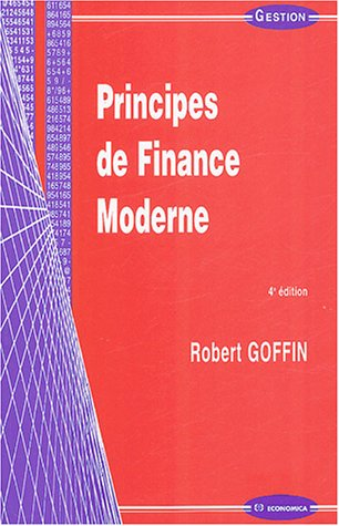 9782717848731: Principes de finance moderne (French Edition)