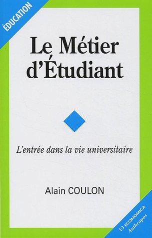 9782717849684: Metier d'etudiant (le) (Education)