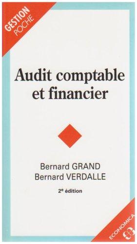 9782717852356: Audit comptable et financier