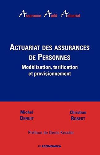 9782717853292: Actuariat des assurances de Personnes (French Edition)
