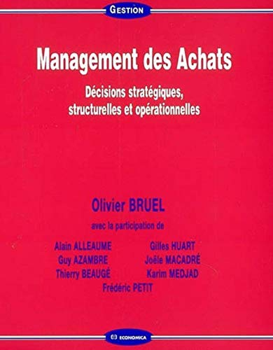 9782717853414: Management des Achats (French Edition)