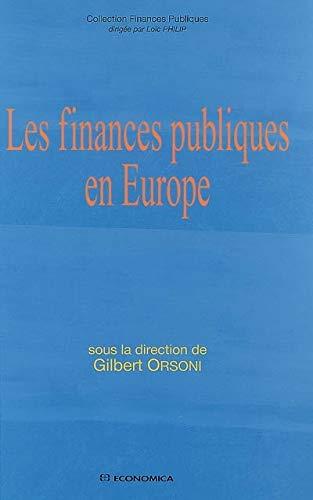9782717854084: Les finances publiques en Europe