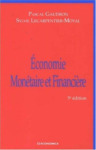 9782717854510: Economie mon�taire et financi�re