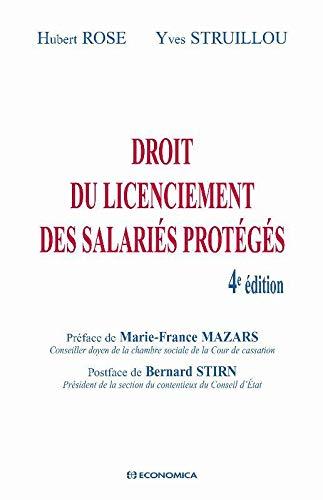 9782717857603: Droit du licenciement des salariés protégés