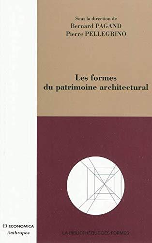 9782717857726: Les formes du patrimoine architectural