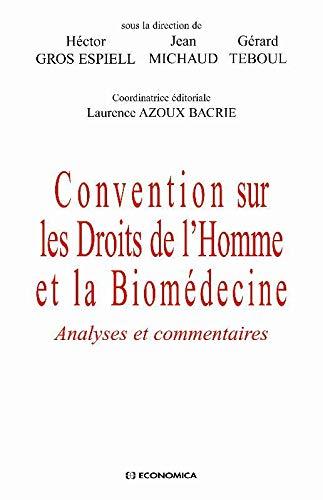9782717857733: Convention sur les droits de l'homme et la biomédecine