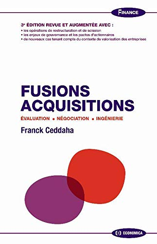 9782717858884: Fusions, acquisitions