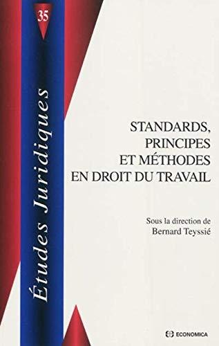 9782717859621: Standards, principes et méthodes en droit du travail