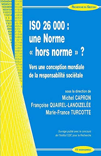 9782717859737: ISO 26 000 : une Norme