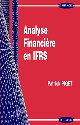 9782717860146: Analyse financière en IFRS