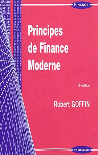 9782717861389: Principes de Finance Moderne - 6 ED.