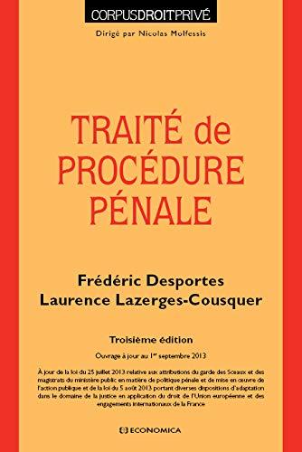 9782717866131: Traite de procédure pénale