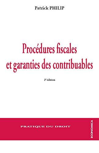 9782717866865: Procédures Fiscales et Garanties des Contribuables, 2e ed.