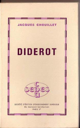 Diderot (French Edition): Jacques Chouillet