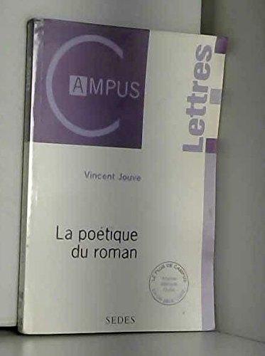 9782718191812: La poetique du roman col.campus lettres