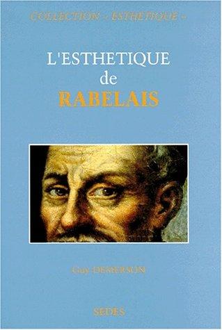 """9782718194080: L'esthétique de Rabelais (Collection """"Esthétique,"""") (French Edition)"""