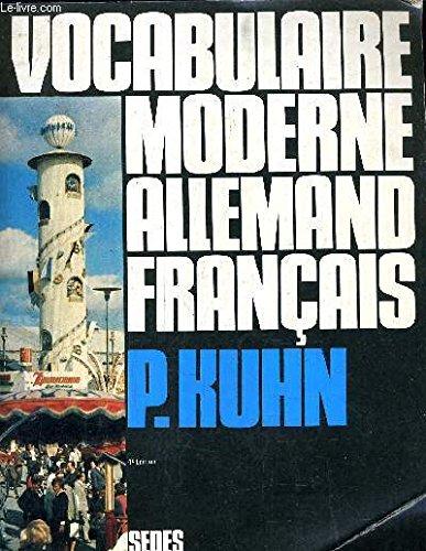 9782718198170: Vocabulaire moderne allemand-français