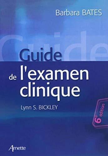 9782718412221: Guide de l'examen clinique