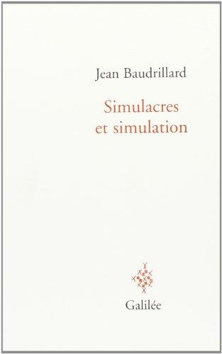 9782718602103: Simulacres et simulation (Débats)