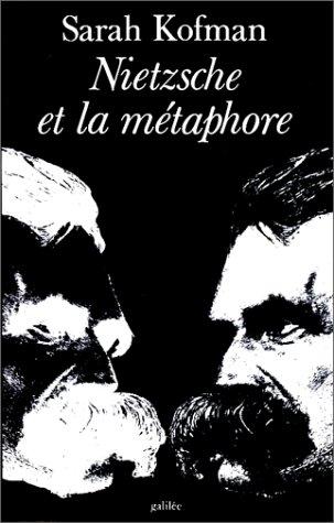 9782718602493: Nietzsche et la métaphore (Débats) (French Edition)