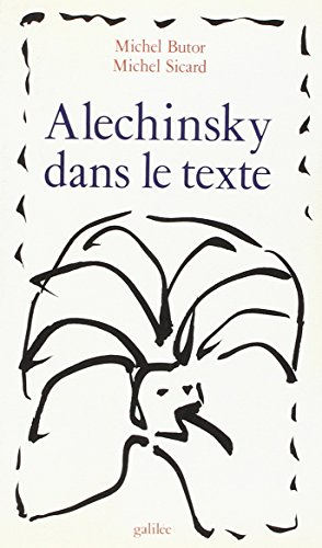 Alechinsky dans le texte Sicard and Butor,