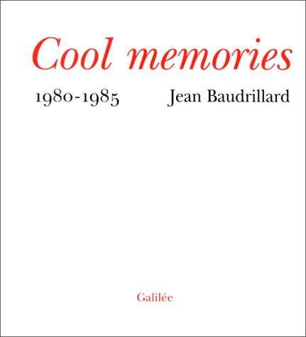9782718603162: Cool memories : 1980-1985 (Débats)