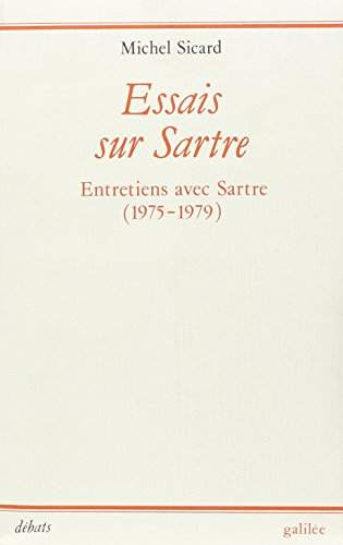 Essais sur Sartre (Collection Debats) (French Edition): Michel Sicard