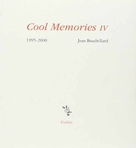 9782718605388: Cool Memories. : Tome 4, 1995-2000 (Incises)